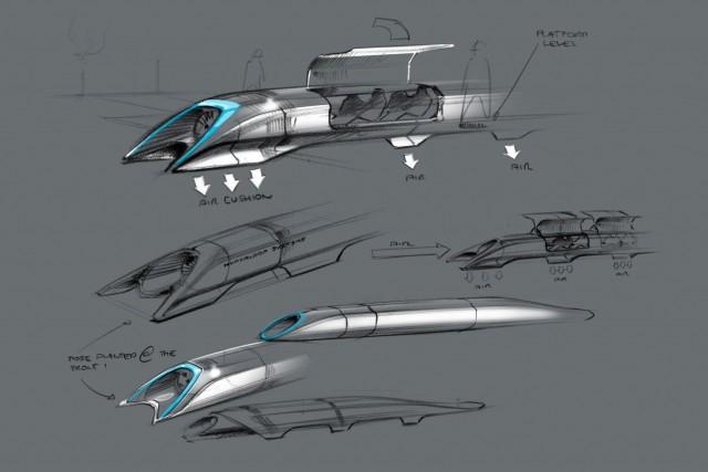 Hyperloop-passenger-transport-capsule-concept