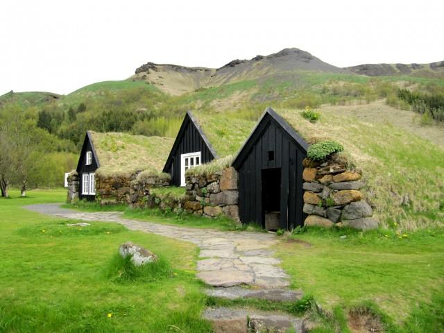 Традиційні ісландські будиночки