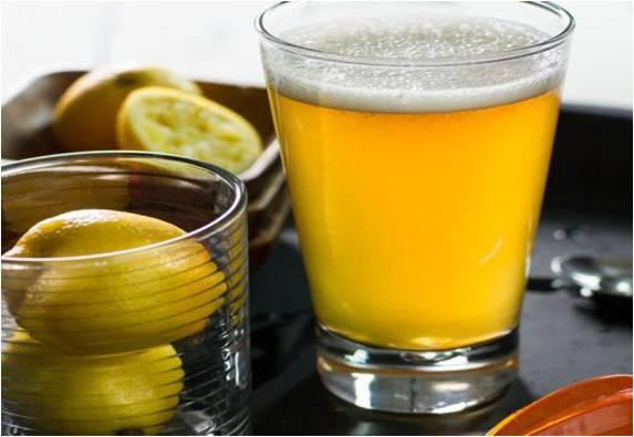 Ginger-Rum shandy