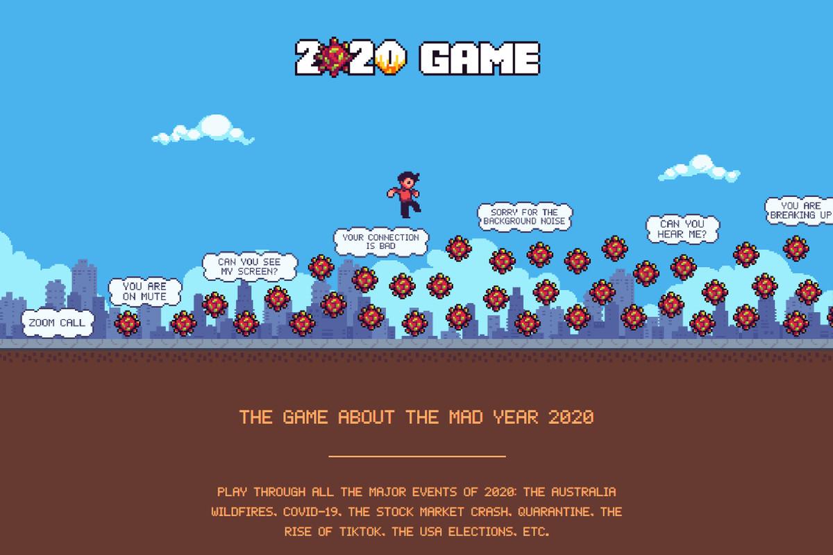 За мотивами подій 2020 року створили онлайн-гру